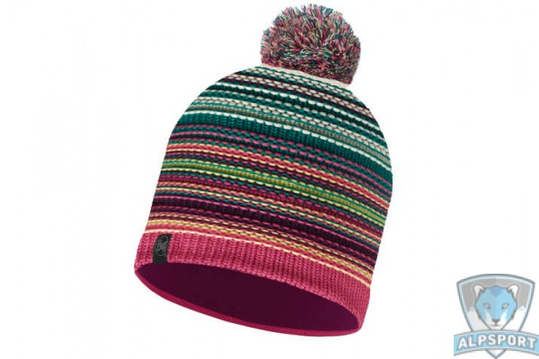 Шапка Buff Knitted & Polar Hat Neper magenta