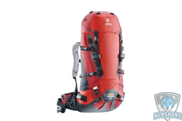 Рюкзак Deuter Guide 40+ SL fire-cranberry
