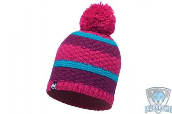 Шапка Buff Knitted & Polar Hat Fizz pink honeysuckle