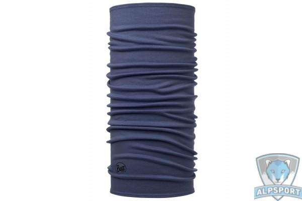 Бафф Buff Midweight Merino Wool Solid Estate Blue