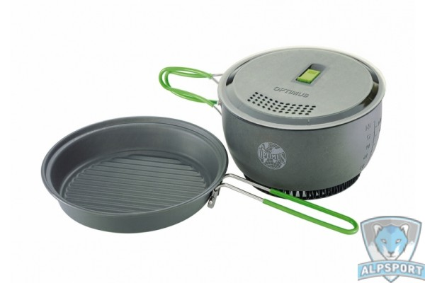 Набор посуды Optimus Terra Lite HE Cookset + крышка Xpress