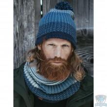Шапка Buff Knitted & Polar Hat Borae mazarine blue